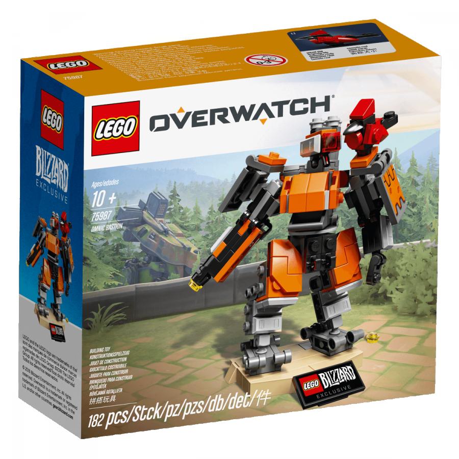 Blizzard представила первый официальный набор LEGO по своему шутеру - Overwatch