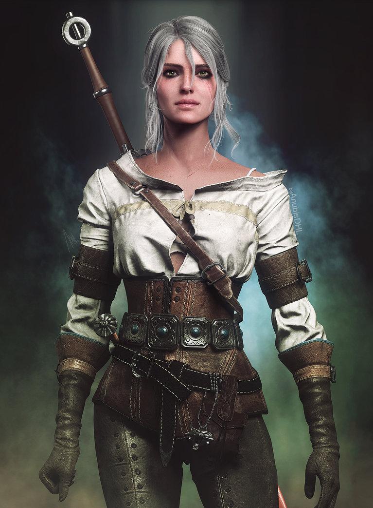 ciri_by_anubisdhl-dcn6ido.jpg - Witcher 3: Wild Hunt, the