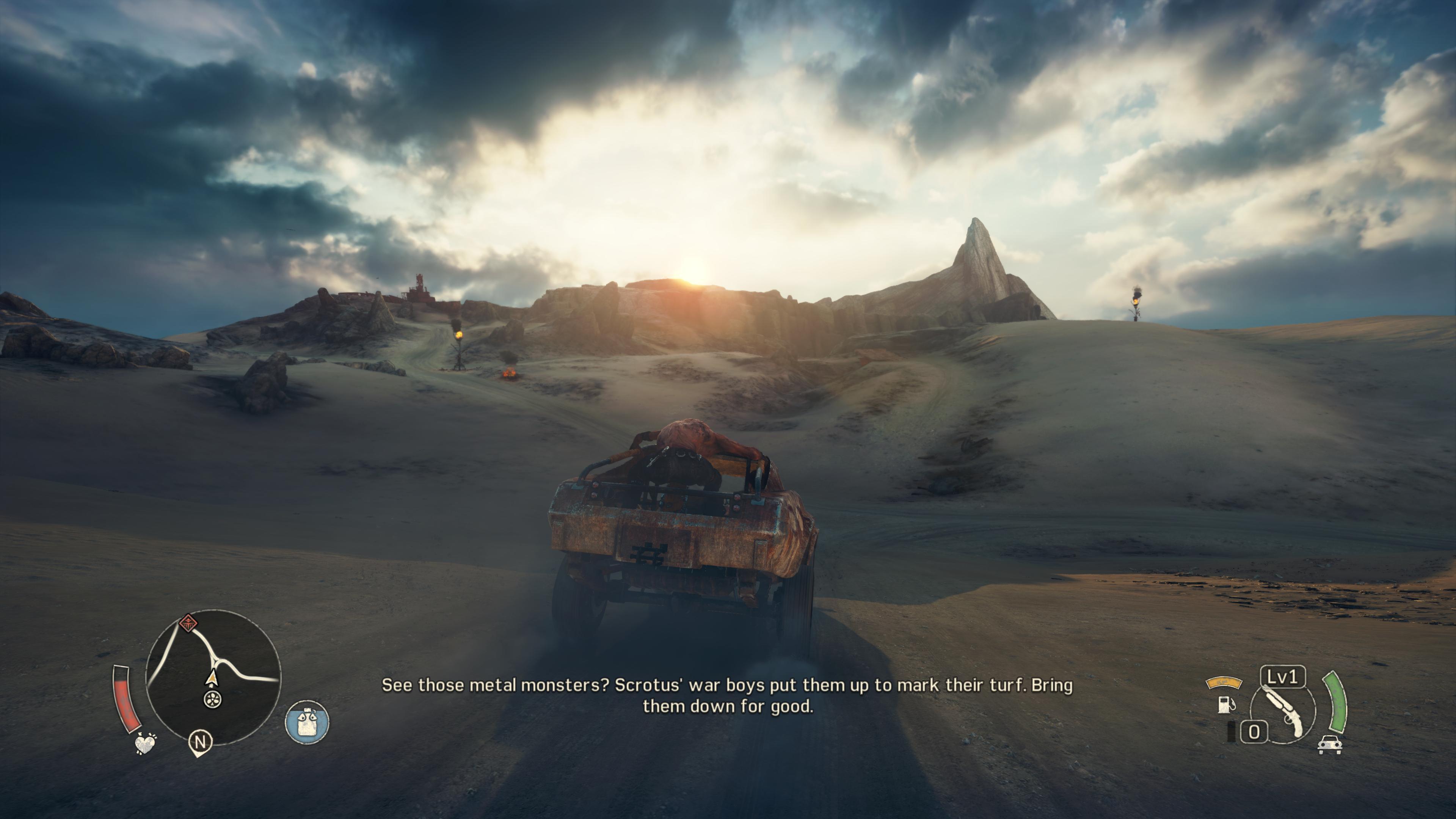 Максимальные настройки графики - Mad Max 4K