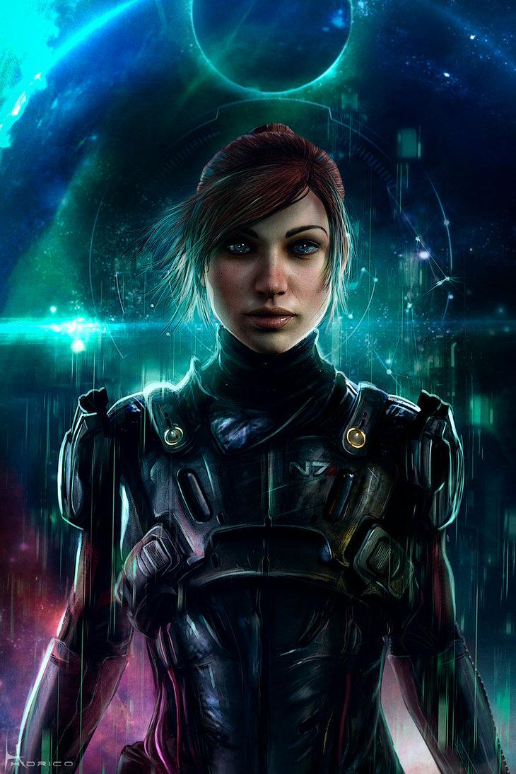 the_pathfinder___sara_ryder_by_hidrico-db2emq9.jpg - Mass Effect: Andromeda