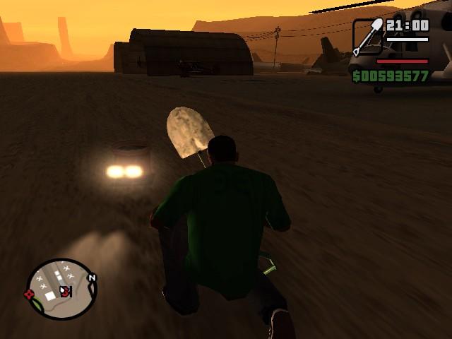 Странное транспортное средство 2 - Grand Theft Auto: San Andreas
