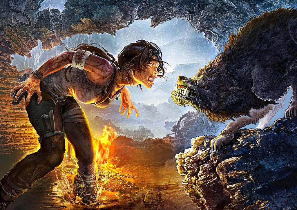 meet_the_predator_by_ertacaltinoz-d5xyz3e.jpg - Tomb Raider (2013)