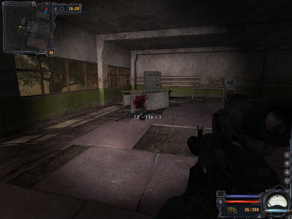 как цобаку пристрелтл - S.T.A.L.K.E.R.: Call of Pripyat наёмник, собака, труп