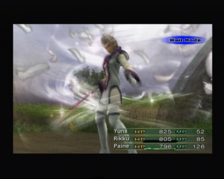 PS2-версия - Final Fantasy 10-2