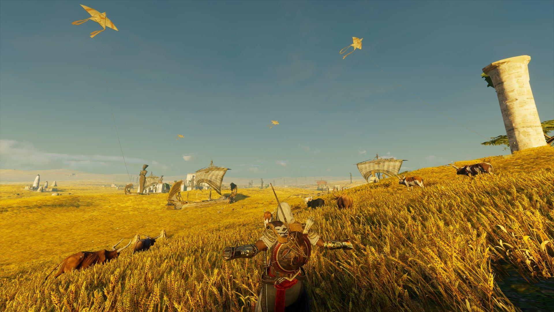 Попал в рай ) - Assassin's Creed: Origins