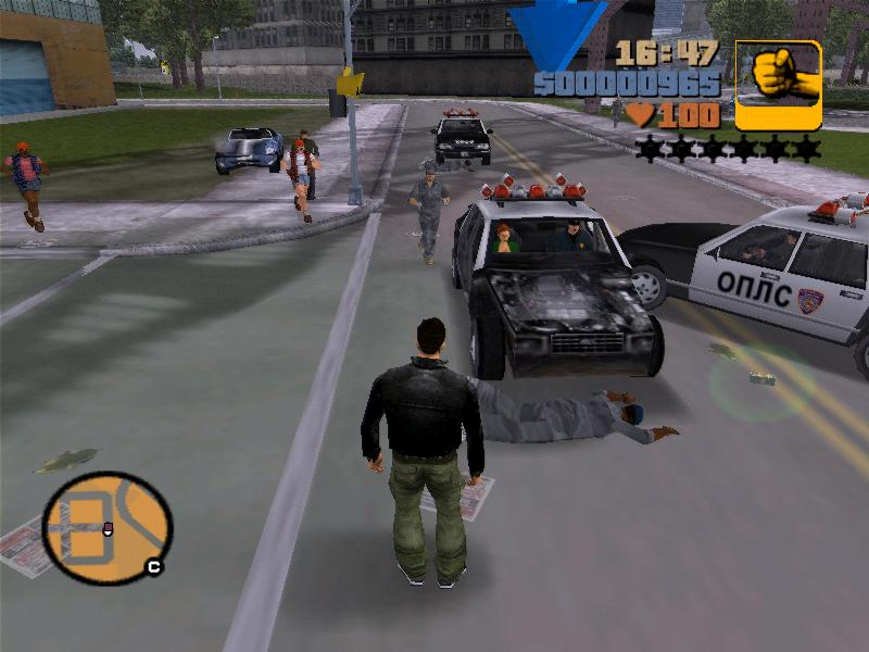 Мисти арестована 3 - Grand Theft Auto 3