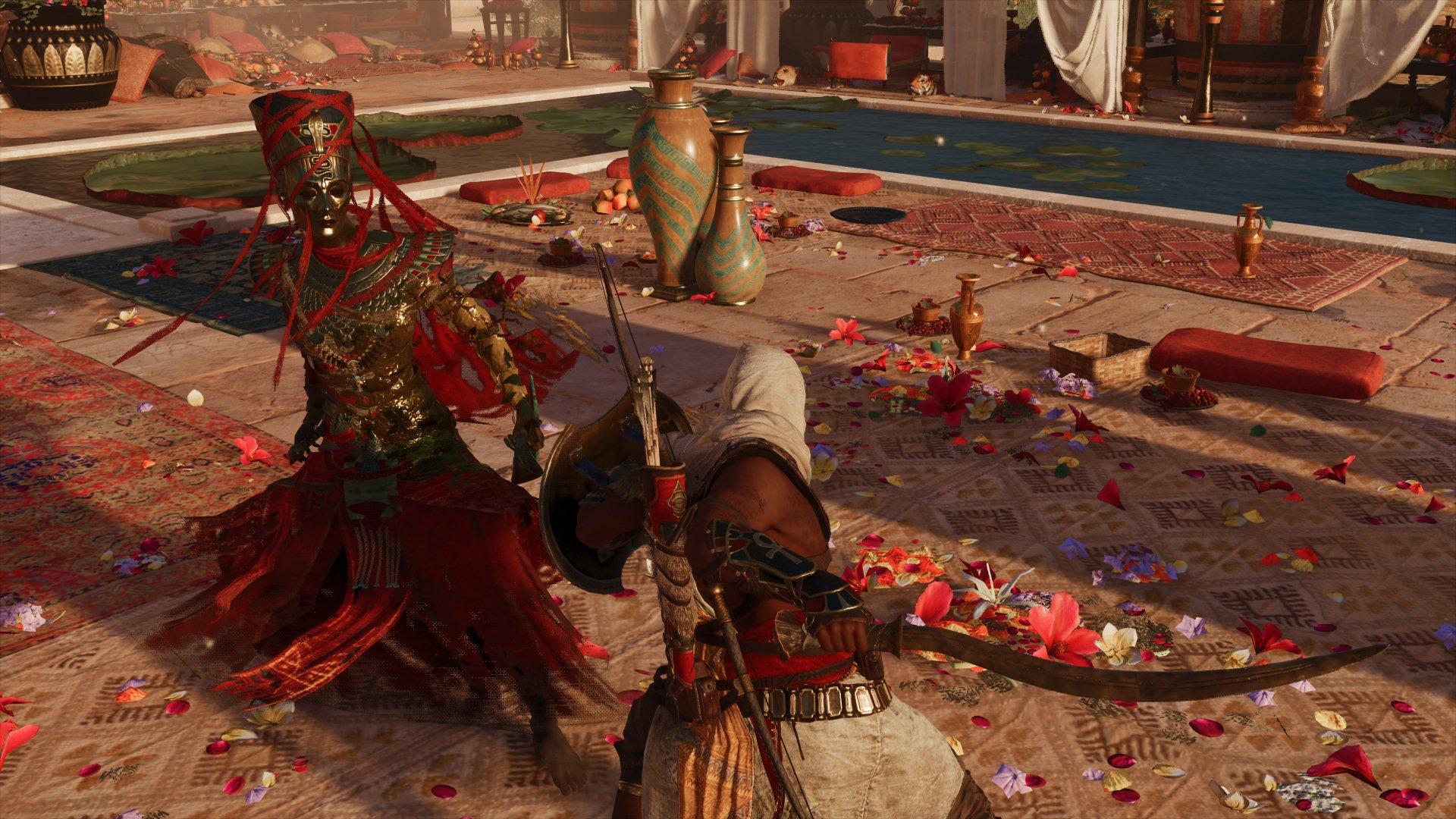 Бой с Нефертити - Assassin's Creed: Origins