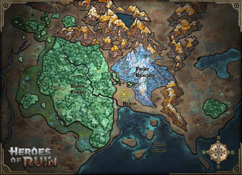 Карта - Heroes of Ruin Арт