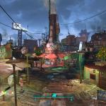 Fallout 4 Новый Год в Даймонд Сити.