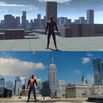 Marvel's Spider-Man Ранний прототип игры