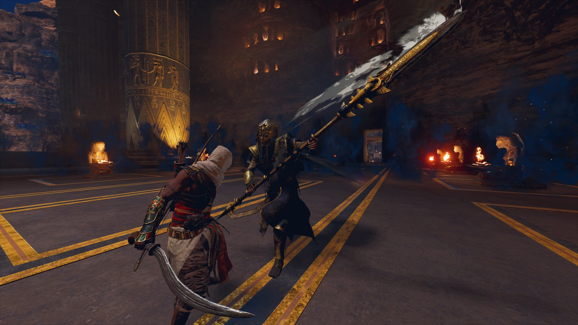 Бой с Тутанхамоном 2 - Assassin's Creed: Origins