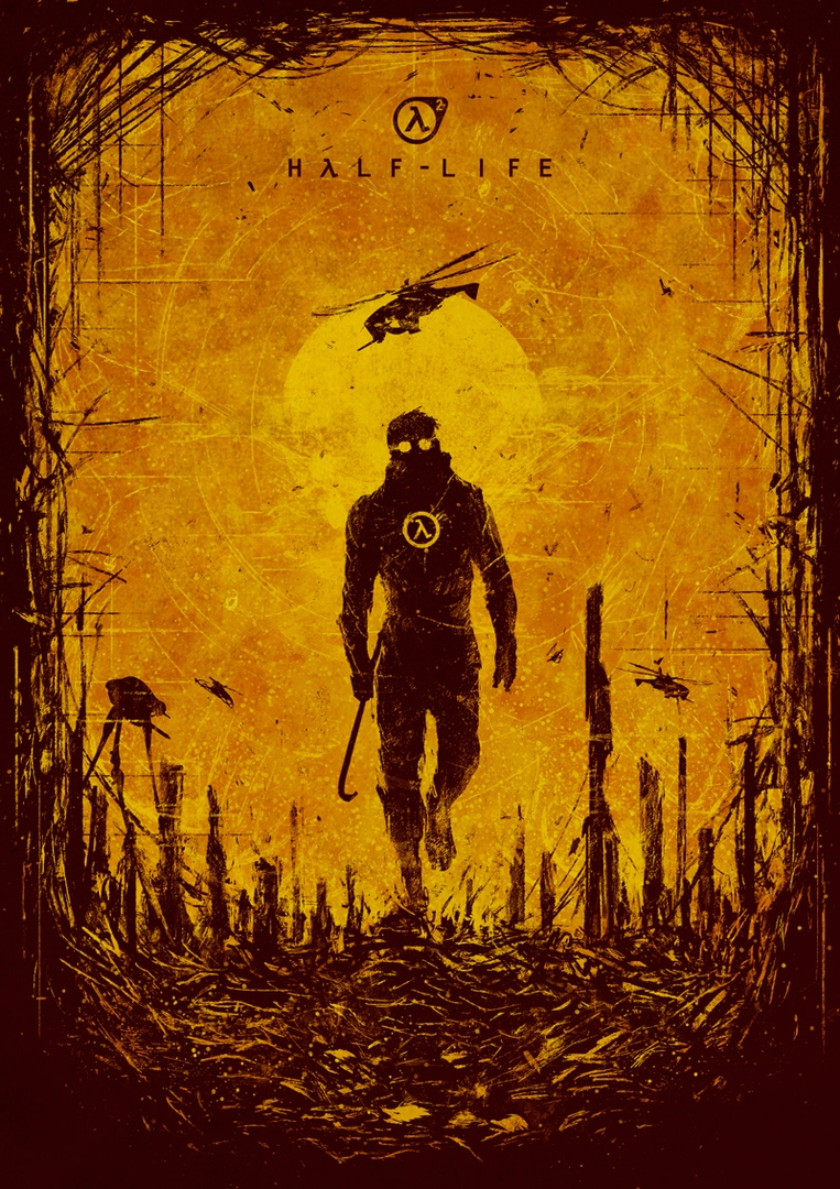 Постер - Half-Life 2 Арт, Персонаж
