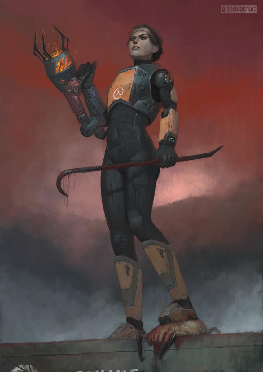 Аликс Вэнс - Half-Life 2 Арт, Персонаж