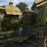Elder Scrolls 3: Morrowind Прекрасный вид Сейда Нин. Так и слышу вой силт-страйдера...