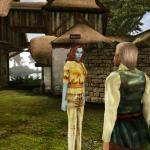 Elder Scrolls 3: Morrowind На меня снизу смотрит босмер Фаргот. Лучше отдать ему кольцо.
