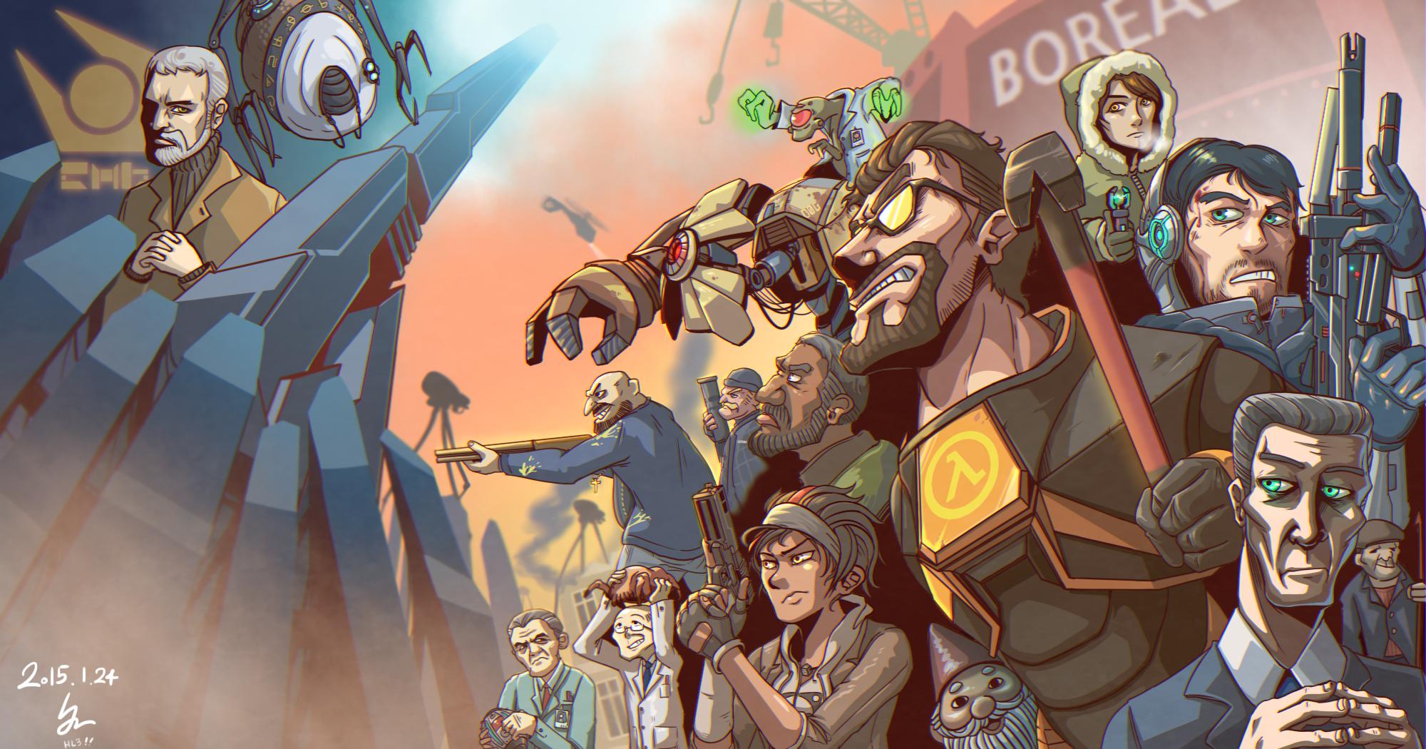Основные персонажи - Half-Life 2 Арт, Персонаж