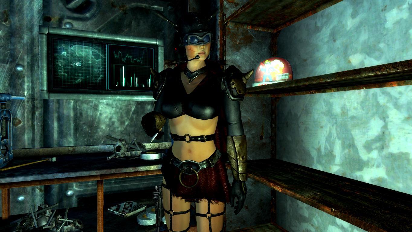 Охотница Легоина. - Fallout: New Vegas