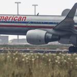 Grand Theft Auto 5 Boeing 757-200 American Airlines садится в международном аэропорту Лос-Сантоса