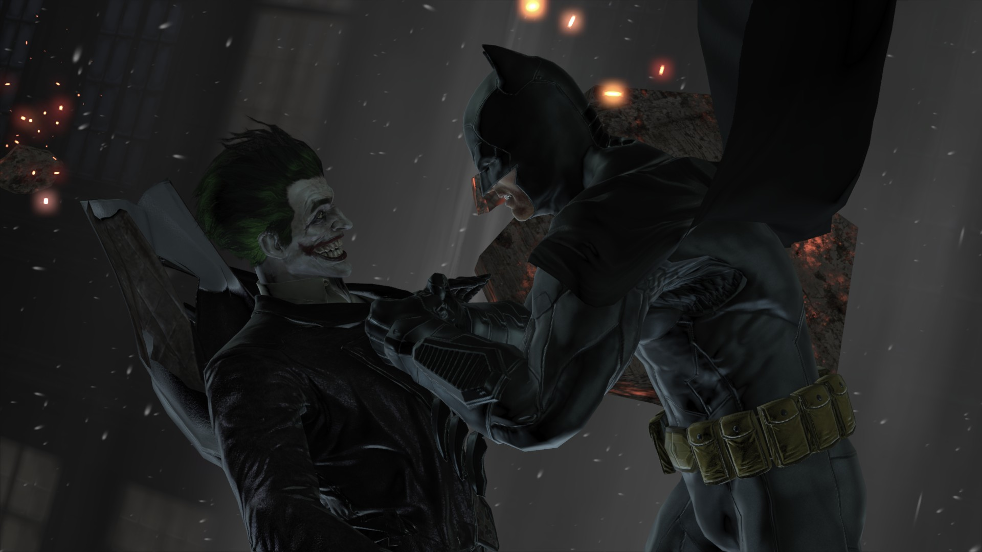 Batman And Joker - Batman: Arkham Origins