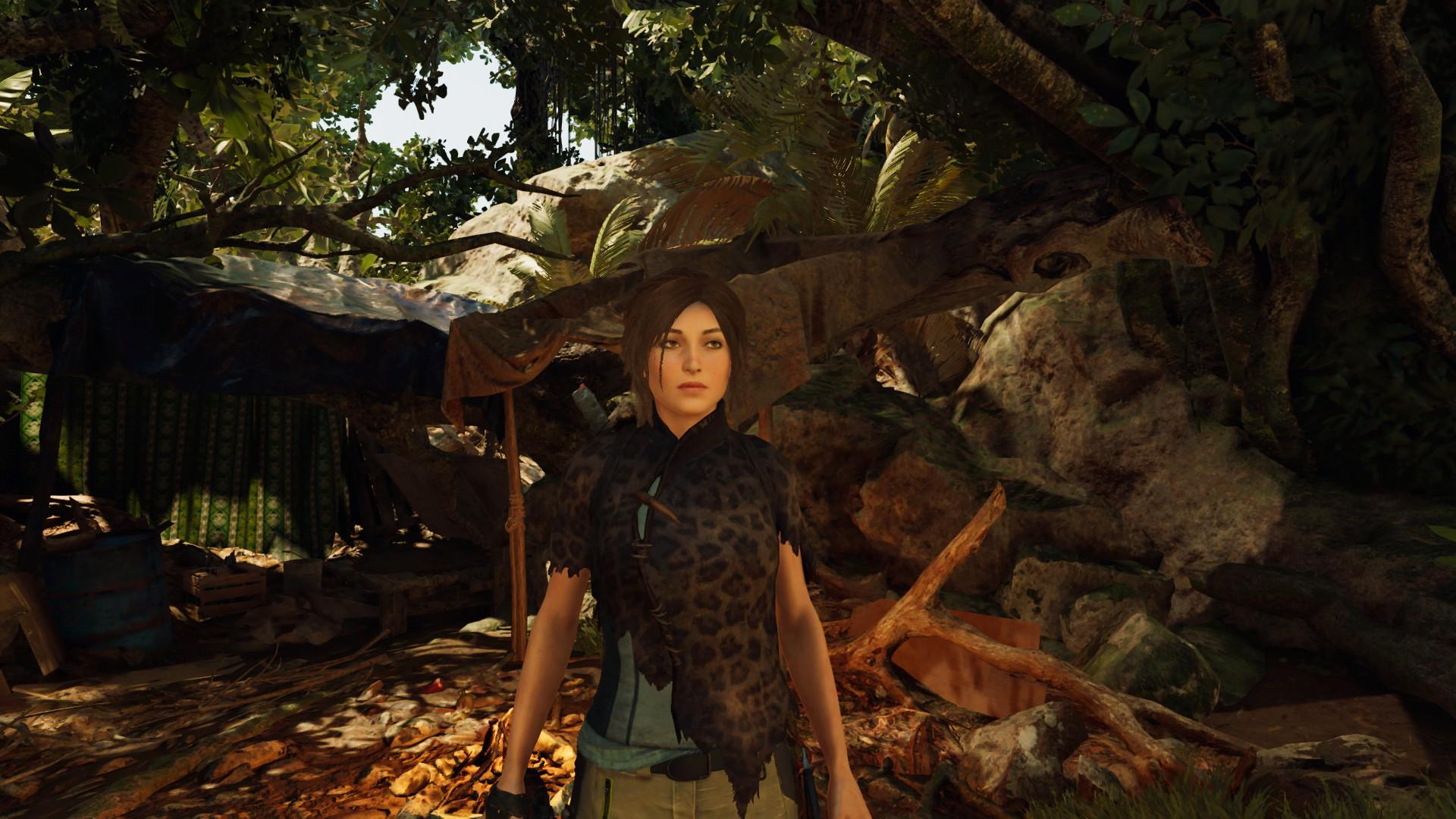 Шкурку в дело пустила - Shadow of the Tomb Raider