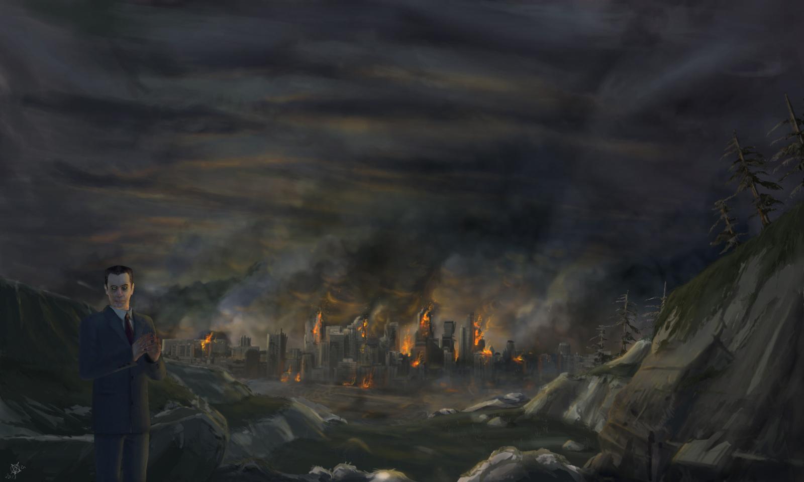 Джи-мэн - Half-Life 2 Арт, Персонаж
