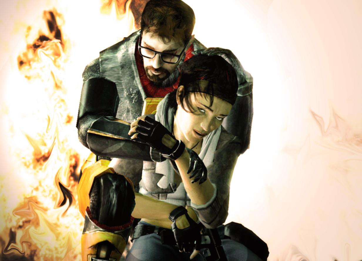 Гордон и Аликс - Half-Life 2 Арт, Персонаж