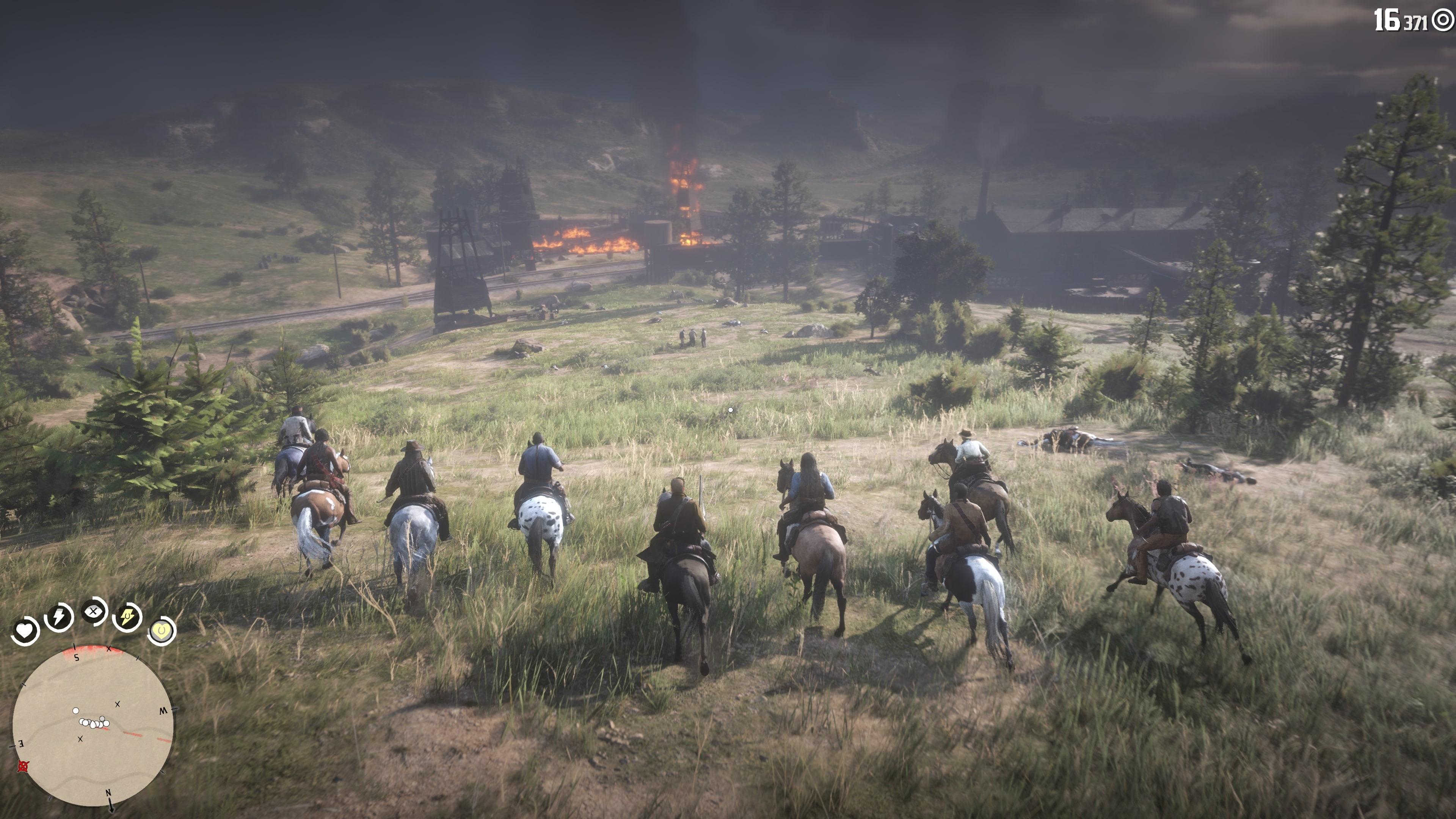 Геймплей - Red Dead Redemption 2 4K