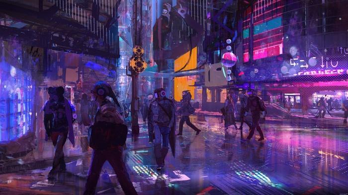 4541126-people-colorful-science-fiction-abstract-helmet-digital-art-futuristic-artwork-city-cyber-cyberpunk-fantasy-art.jpg - Cyberpunk 2077