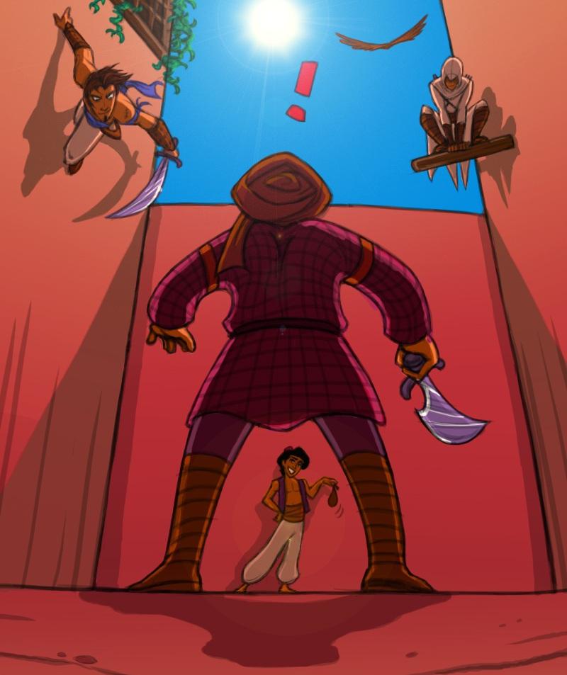 команда - Prince of Persia: The Sands of Time Арт, Персонаж, Юмор