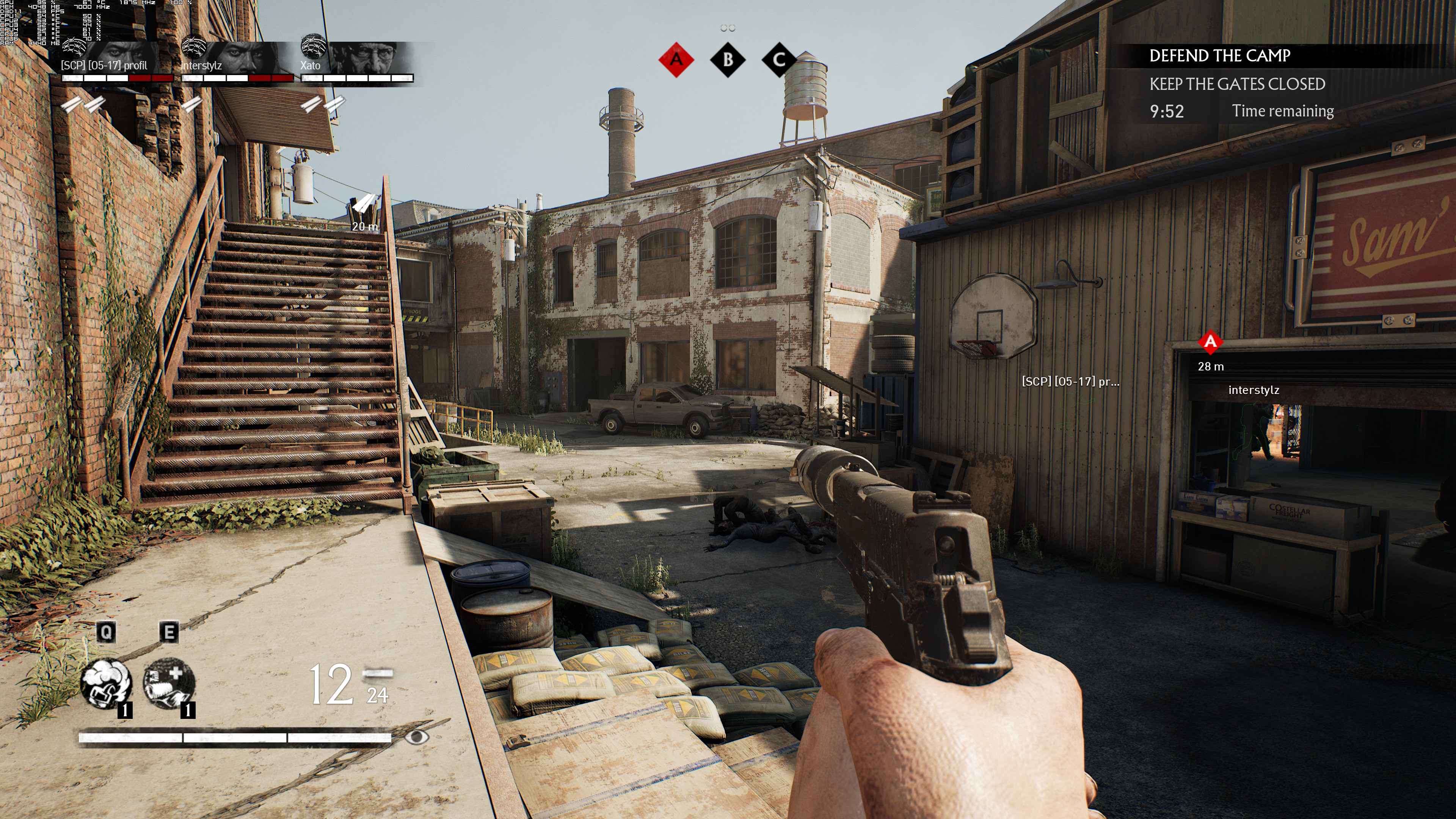 Максимальные настройки графики - Overkill's The Walking Dead 4K