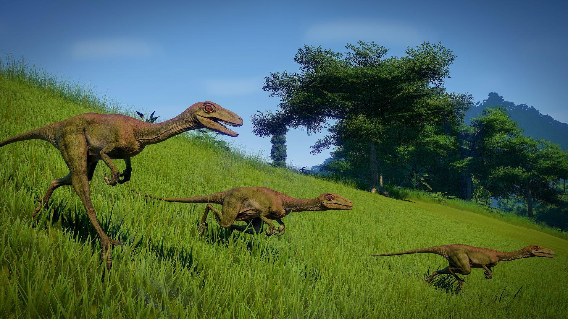 Динозавры - Jurassic World Evolution