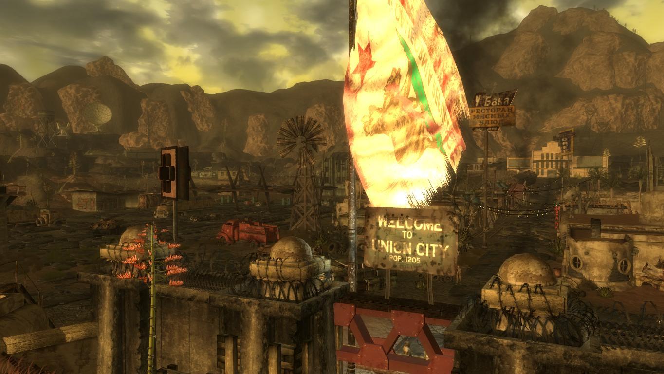 Калифорния-Вегас.Юнион-Сити. - Fallout: New Vegas