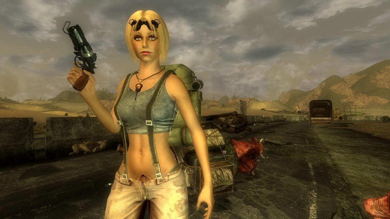 Калифорния-Вегас.Куколка. - Fallout: New Vegas