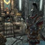 Elder Scrolls 5: Skyrim Когда хочешь сфоткаться со звездой, но тебе мешает охрана))