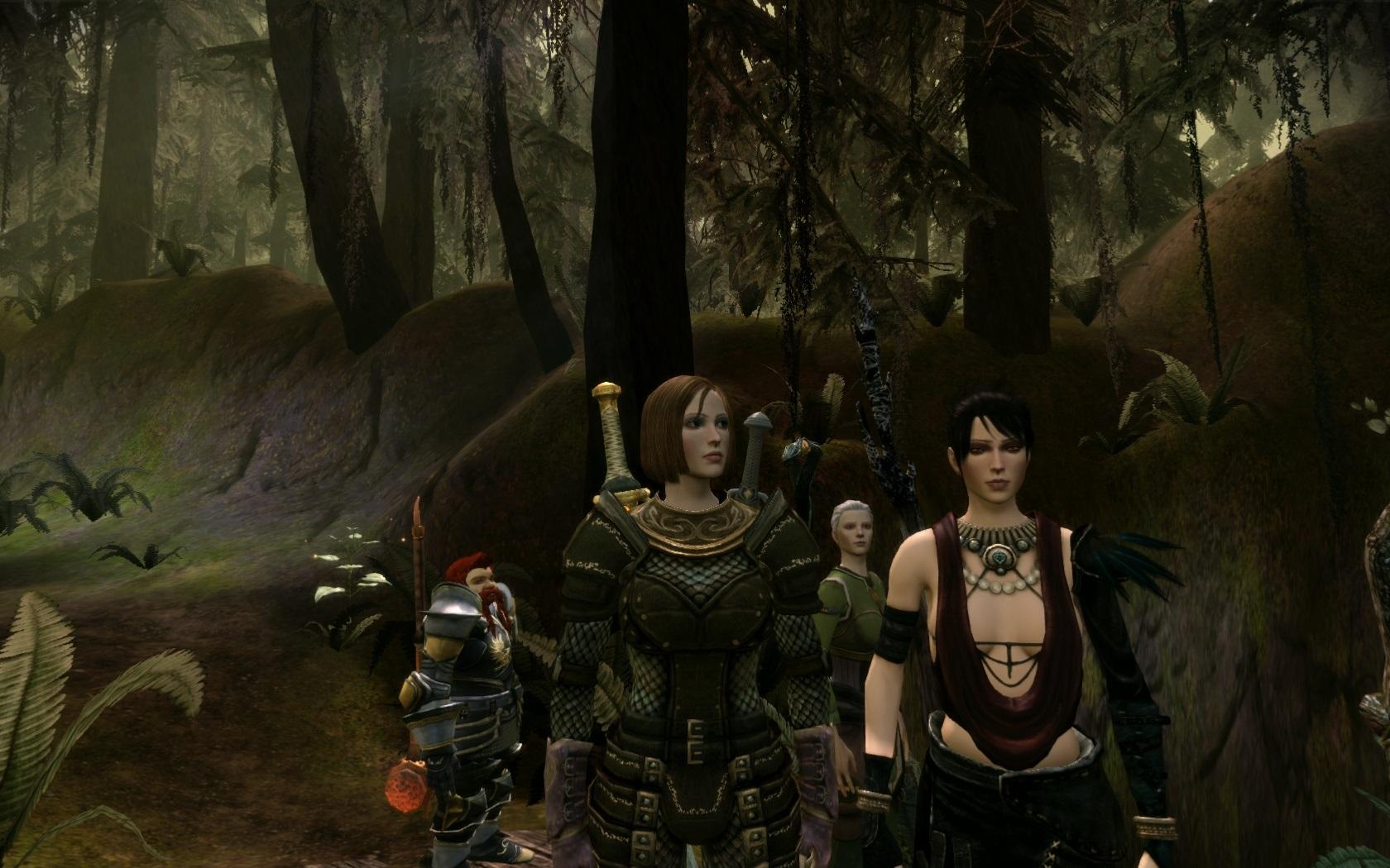 В лесу - Dragon Age: Origins