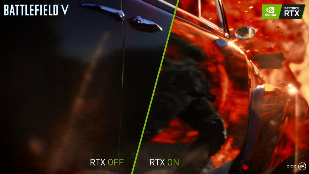 Стала доступна трассировка лучей в Battlefield V - Battlefield V