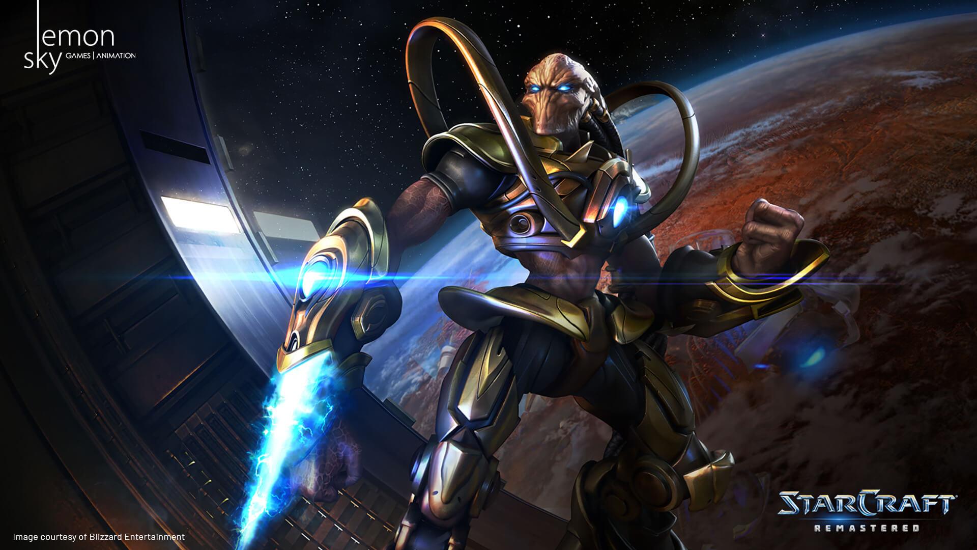 StarCraft Remastered 02 - StarCraft Обои