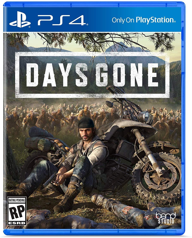 Days Gone - представлен бокс-арт зомби-боевика для PlayStation 4 - Days Gone