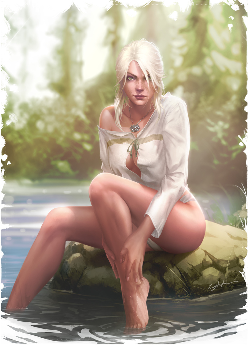 Ciri - Witcher 3: Wild Hunt, the