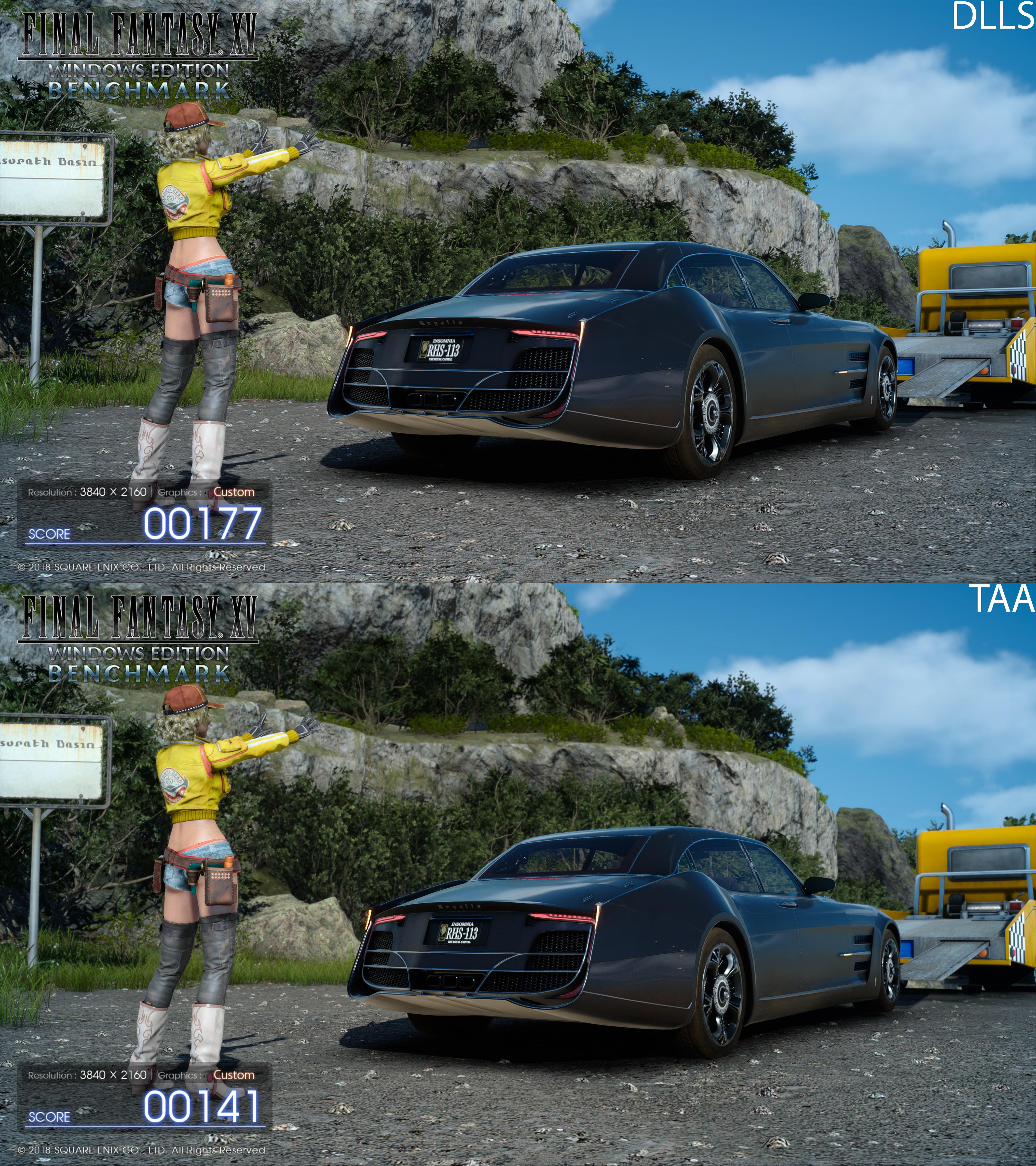 Nvidia DLSS / TAA - Final Fantasy 15