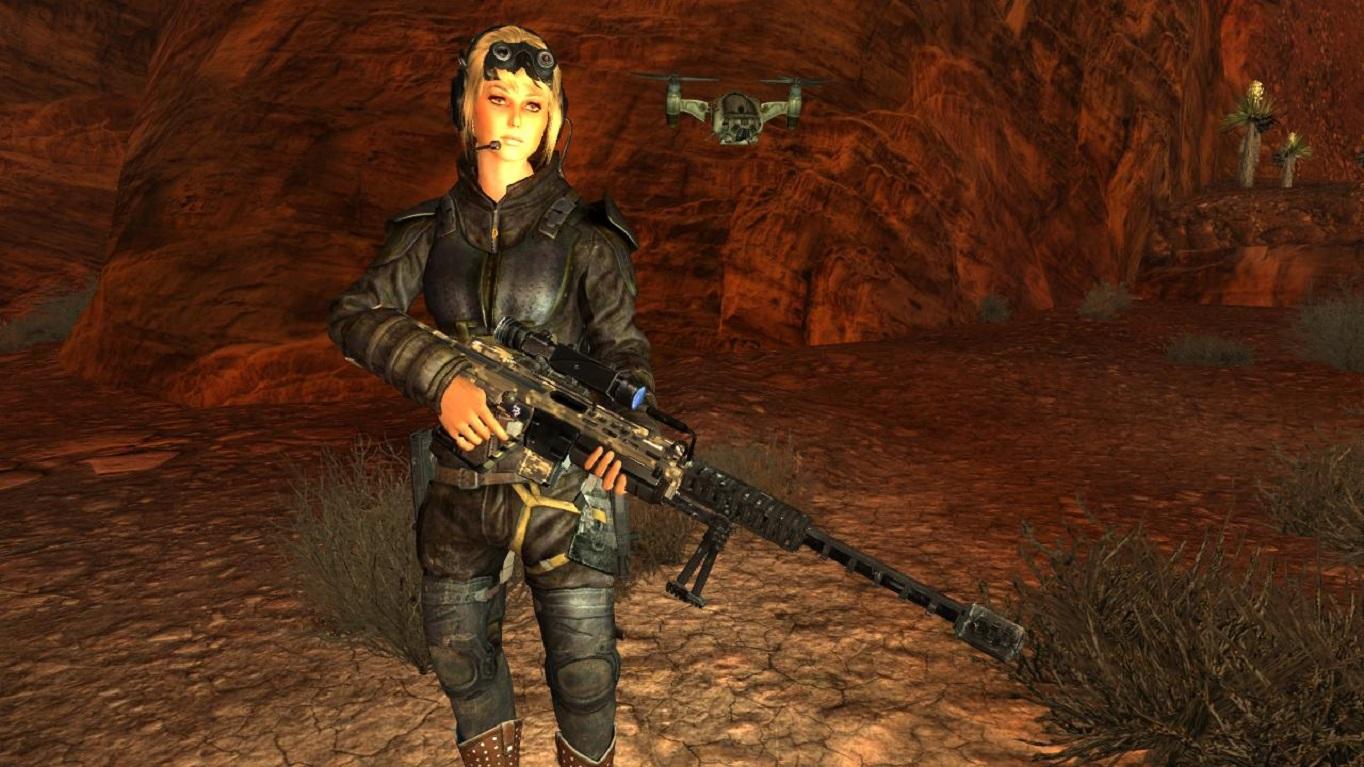Оружие из Японии.Спокойная стойка. - Fallout: New Vegas