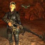 Fallout: New Vegas Оружие из Японии.Спокойная стойка.