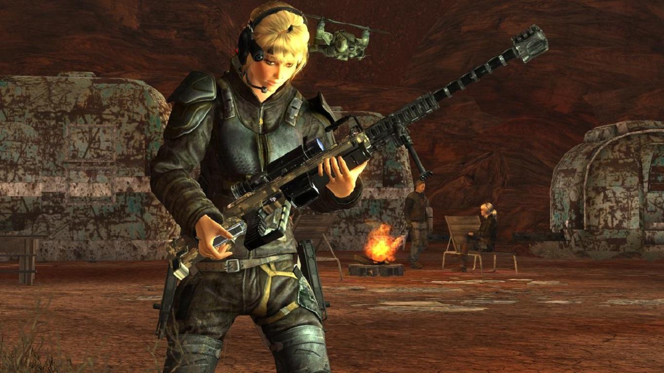 Оружие из Японии.Перезарядка. - Fallout: New Vegas