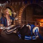 Witcher 3: Wild Hunt Бьянка и Роше: второстепенные герои в броском фотосете