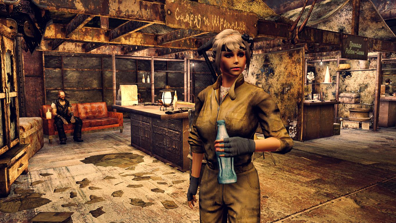Ривет-Сити.Снаряд и Шрапнель. - Fallout 3