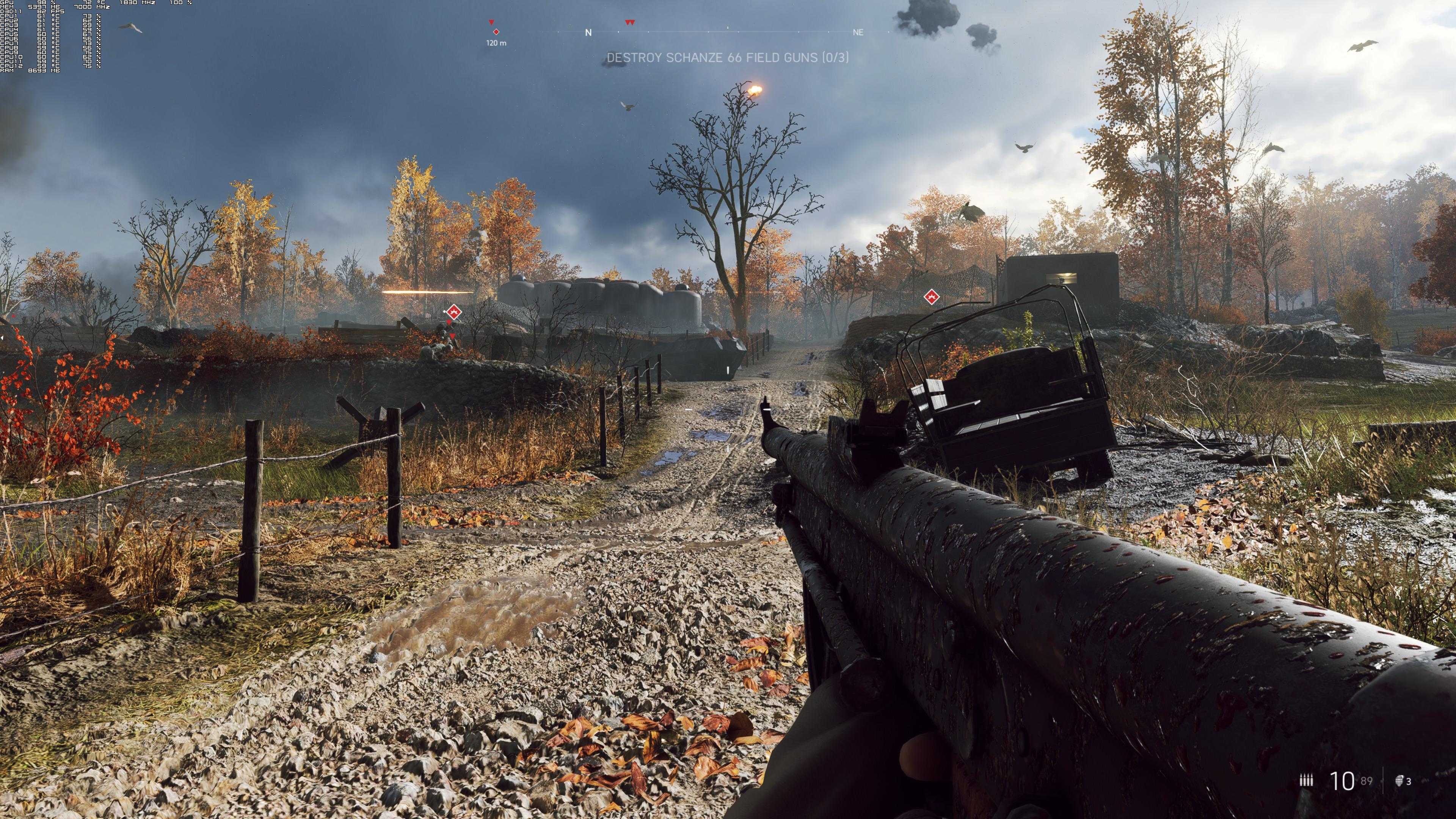Максимальные настройки графики - Battlefield V 4K