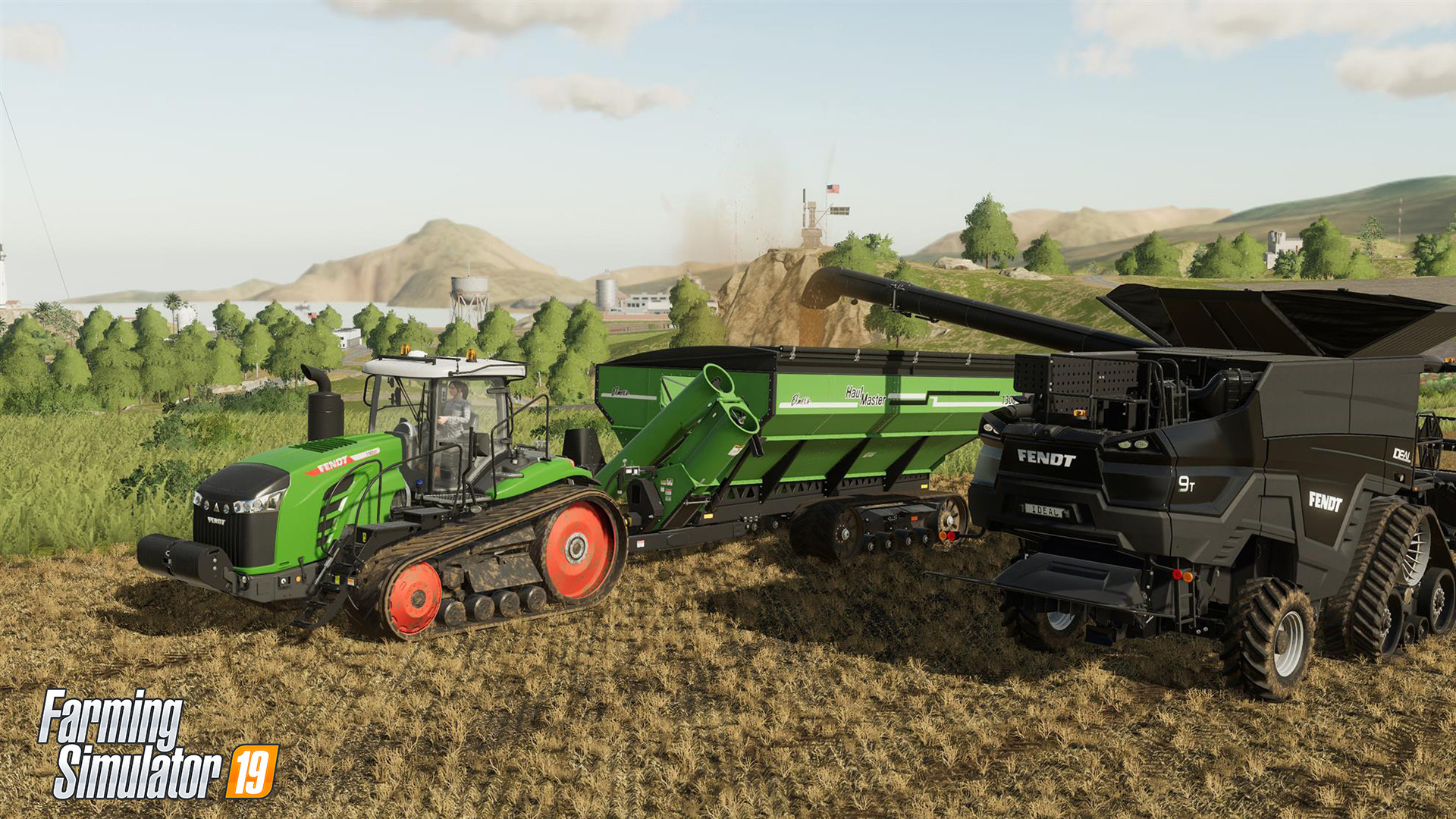 Работа - Farming Simulator 19