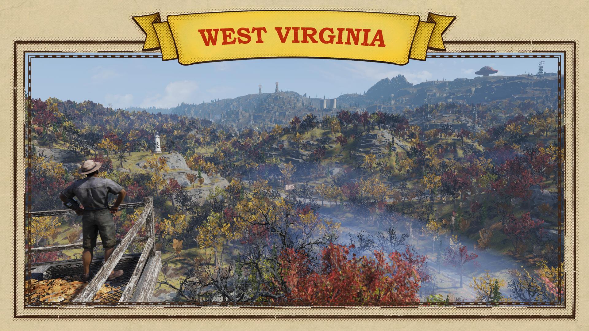 Добро пожаловать в Вирджинию - Fallout 76