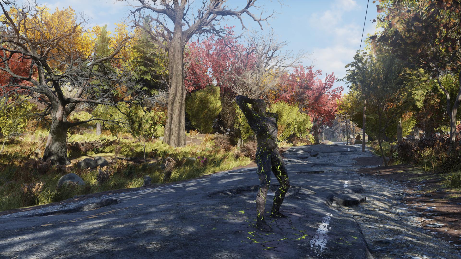 Окаменевшее тело - Fallout 76