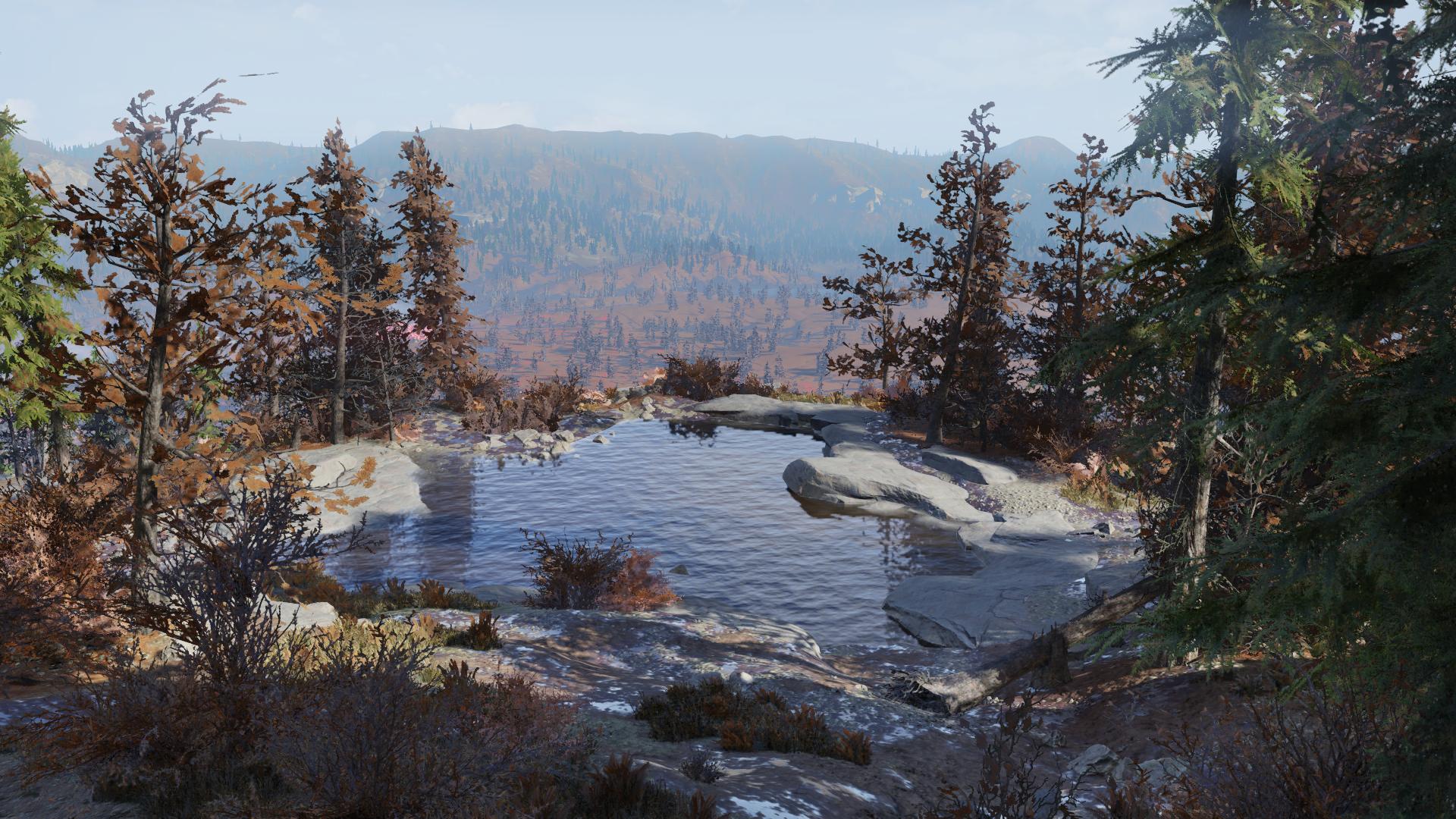 Озеро - Fallout 76